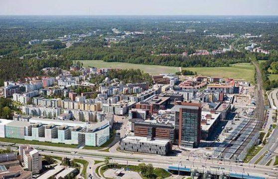 Karelia-Upofloor Leppävaaraan Alberga Business Parkiin