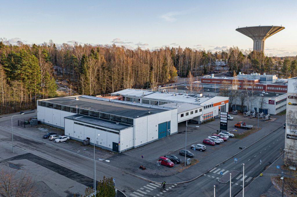 L&T Kiinteistöhuolto Oy uusiin toimitiloihin Herttoniemessä.